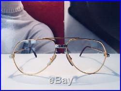 Cartier Vendome Santos Vintage Sunglasses Lunettes Sonnenbrille Eyeglasses
