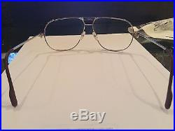 Cartier Vintage Eyeglasses 1988 GREAT CONDITION new non-prescription lenses