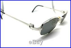 Cartier Vintage! Eyeglasses / Sunglasses Silver Louis santos