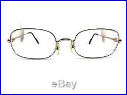 Cartier Vintage Eyeglasses / Sunglasses Silver Trinity 54-21-140 prescription