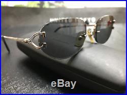 Cartier Vintage Eyeglasses / Sunglasses Trinity