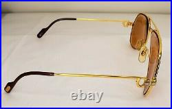 Cartier Vintage Gold Teardrop Style RX/Eyeglasses Paris France 56 16 135