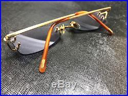 Cartier Vintage Rimless Eyeglasses / Sunglasses Trinity