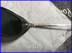 Cartier Vintage Sunglasses with Case & guarantee / Garantie / Eyeglasses