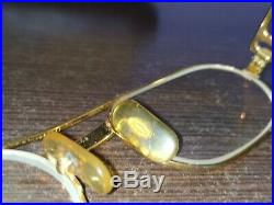 Cartier Vintage Vendome Santos Gold eyeglasses