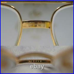 Cartier Vintage eyeglasses Genuine teardrop from Japan Free shipping