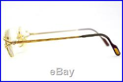 Cartier eyeglasses made in france 2404851 USED(withsemi hard case)