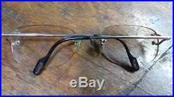 Cartier rimless eyeglasses in good condition