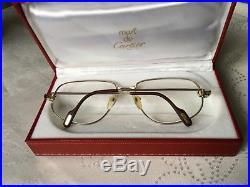 Cartier vintage glasses frame Registered number 975298 with Cartier box