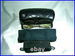 Chanel, eyeglasses, oval, square, women's, men's, frames, hyper vintage