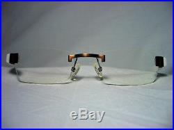 Dilem France Avant-Garde rimless square oval men's women's eyeglasses frames