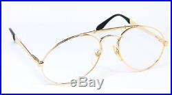 ETTORE BUGATTI 11901 Aviator Vintage Eyeglasses Frame Glasses Lunettes 58-20 XL