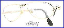 ETTORE BUGATTI EB 501 0104 54mm Vintage Eyewear RX Optical FRAMES Eyeglasses-NOS