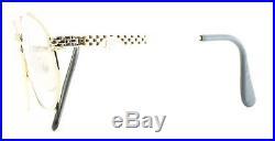 ETTORE BUGATTI EB 505 0104 56mm Vintage Eyewear RX Optical FRAMES Eyeglasses-NOS
