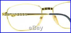ETTORE BUGATTI EB 507 0106 57mm Vintage Eyewear RX Optical FRAMES Eyeglasses-NOS
