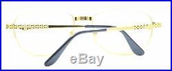 ETTORE BUGATTI EB 507 0301 57mm Vintage Eyewear RX Optical FRAMES Eyeglasses-NOS