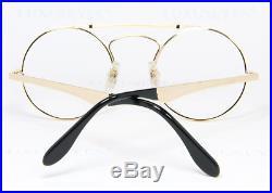 ETTORE BUGATTI Round Vintage Eyeglasses Lunettes Gafas Occhiali 11701 48-22