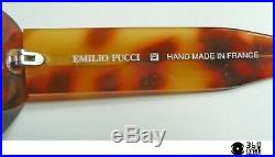 Emilio Pucci Hand Made France 91070 occhiali vintage in acetato 1980s (small)