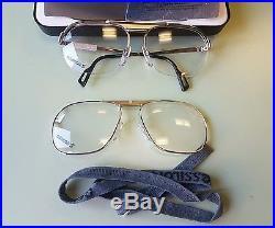 0dd9ce6e1dd Essilor S Eyeglasses Vintage 1980 s 2 in 1 French Made NOS Donny Brasco  Style