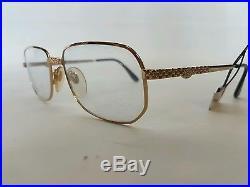 Ettore Bugatti 0104 EB 510 Authentic Vintage Luxury Eyewear Eyeglasses NOS Rare