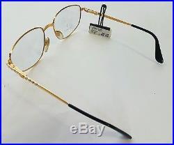 Ettore Bugatti 0106 EB 506 Authentic Vintage Luxury Eyewear Eyeglasses NOS Rare