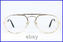 Ettore Bugatti 11811 Aviator Vintage Glasses Eyeglasses Lunettes Occhiali 56-20