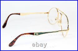 Ettore Bugatti Aviator Vintage Glasses Eyeglasses Lunettes Occhiali 11944 58-20
