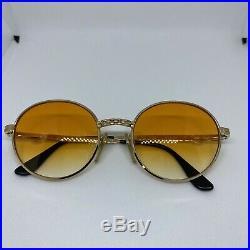 Ettore Bugatti EB 508 0106 50, Legendary 80s Vintage round eyeglasses NOS