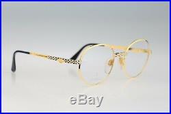 Ettore Bugatti EB 508 0106 52, Legendary 80s Vintage round eyeglasses NOS