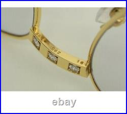 Extremely RARE vintage Solid 18k Gold Romance cartier jewelry line Eyeglasses