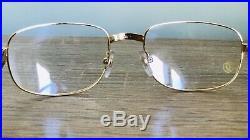 Eyeglasses Frame vintage 1990s for Men Frame Wood & Gold New