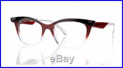 FACE A FACE EBONY 3 EYEGLASS FRAMES Vintage look, Unique style, Hand made France