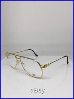 FRED America Cup Paris LUNETTES Eyeglasses Sunglasses Force 10 22kt Gold Plated
