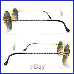 FRED OURAGAN G-15 Lenses Eyeglasses Sunglasses Gold Vintage Lunettes