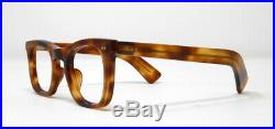 Fabulous vintage eyeglasses lunettes 1950 carved frame France