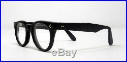 Fabulous vintage eyeglasses lunettes 1990 carved frame France