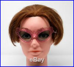 Fabulous vintage sunglasses lunettes 1950 carved frame France