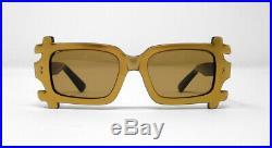 Fabulous vintage sunglasses lunettes 1960 carved frame France