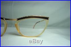 Festival eyeglasses 18kt gold filled round oval frames women's super vintage