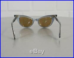 Frame France Selecta Cat Eye Brille Sonnenbrille Lesebrille Rockabilly Ära Lila