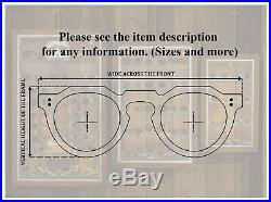 Fred Cap Horn, 80s Vintage square aviator eyeglasses NOS