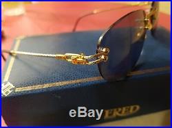 Fred Corvette Lunettes Sunglasses Eyeglasses Vintage Brille Lunettes Frame Rare
