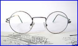 GOUVERNEUR AUDIGIER 29-20 135 Small Retro Round Eyeglass Frames Mens Lennon Nerd