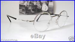 GOUVERNEUR AUDIGIER 35-19 135 Small Retro Round Eyeglass Frames Mens Lennon Nerd