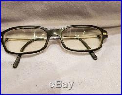 Genuine black rim cartier glasses