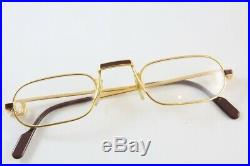 Great New Nos Vintage Cartier Demi Lune Laque Eyeglasses Made In France