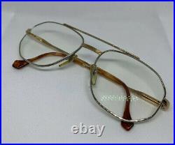 HENRY JULLIEN RITZ Gold Filled 40/000 Vintage Mens Frame Eyeglasses Rare France