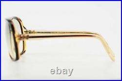 Handmade 1980s Nina Ricci Paris Oversized Transparent Glasses France NEW 58-19