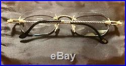 Hottest Gold Vintage Fred Fidji Eyeglass Frame France Made