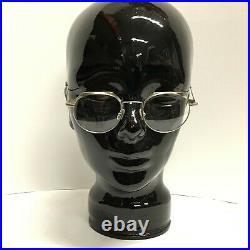 Jean Lafont L110 45-19-130 Silver Tortoise Design Eyeglass Vintage French Frame
